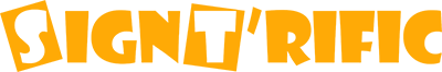 Signt'rific Logo